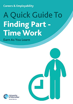 Cover of Quick Guide to Finding Part Time Work